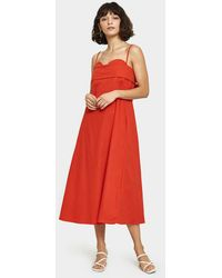 Toit Volant - Verona Dress In Red - Lyst