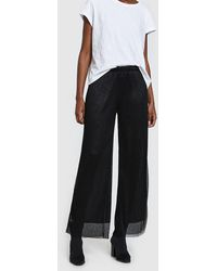 Just Female - Shimmer Quint Pants - Lyst