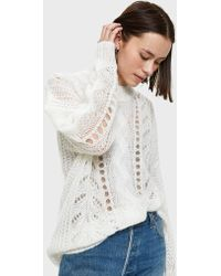 Just Female | Dagmar Knit In Bright White | Lyst