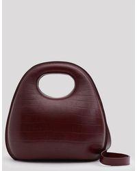 Lemaire - Egg Bag In Grape - Lyst