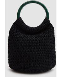 Rachel Comey - Praia Hand Crochet Bucket In Black - Lyst