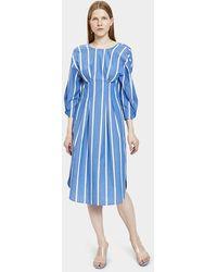 Rejina Pyo - Maya Dress In Blue Stripe - Lyst