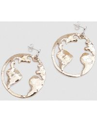 Open House - Earth Earrings In Bronze - Lyst