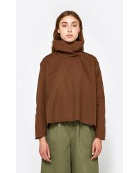 Ashley Rowe - Fitted Turtleneck In Brown - Lyst