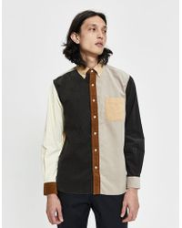 Beams Plus - Crazy Corduroy Button-down Shirt - Lyst