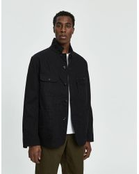 Engineered Garments - Logger Canvas Jacket - Lyst