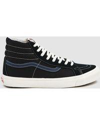 364d0a446c2639 Lyst - Vans Black And Green Camo Og Sk8-hi Lx High-top Sneakers in ...