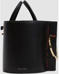 Danse Lente - Bobbi Leather Bucket Bag - Lyst