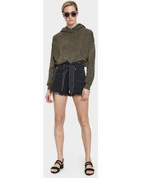 Nanushka - Apache Paperbag Waist Shorts - Lyst