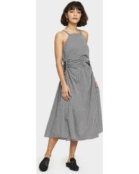 Toit Volant - Jurancon Dress In Check - Lyst