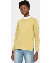 A.P.C. | Blaze Sweater In Mustard | Lyst
