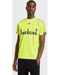 Alexander Wang - Aw Soccer Jersey Ii In Solar Yellow/black - Lyst