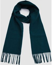 Norse Projects - Norse X Johnstons Lambswool Scarf In Moss - Lyst