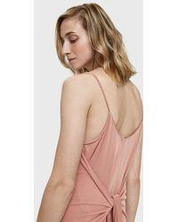 Farrow - Sophi Tie-back Dress - Lyst