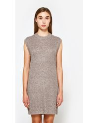 Callahan - Waffled Muscle Dress - Lyst