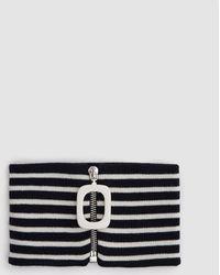 J.W.Anderson - Jwa Neckband In Navy - Lyst