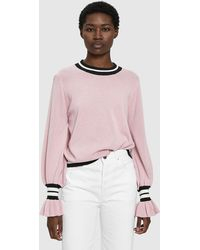 Just Female - Alexa Knit Sweater - Lyst