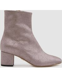 Brother Vellies - Kaya Boot In Stardust Leather - Lyst