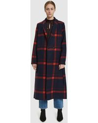 Just Female - Munch Belted Coat - Lyst