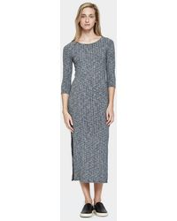 Which We Want - Ribbed Midi Dress - Lyst