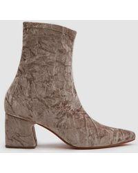 Rachel Comey - Zaha Stretch Velvet Boot - Lyst