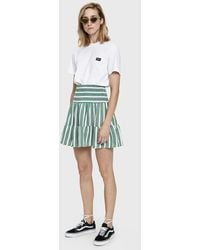 Just Female - Palm Striped Skirt - Lyst