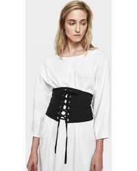Which We Want - Genevieve Corset In Black - Lyst