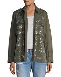 Libertine - Jkt Jean Cocteau Army Jacket - Lyst