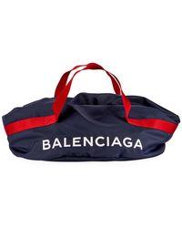 Balenciaga - Nylon Logo Basic Duffel Bag - Lyst