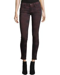 Etienne Marcel - Roos Mid-rise Skinny Star-graphic Pants - Lyst