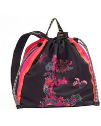 Etro - Printed Backpack - Lyst