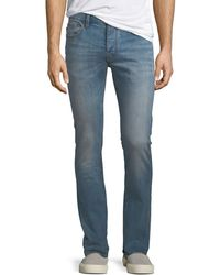 John Varvatos - Men's Wight-fit Button-fly Jeans - Lyst
