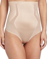 Spanx - Haute Contour High-waisted Thong Shaper - Lyst