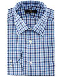 Ike Behar - Men's Check Dress Shirt - Lyst