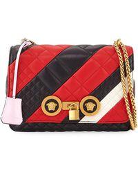Versace - Icon Medium Quilted Patchwork Shoulder Bag - Lyst b938b3b9cfc0c