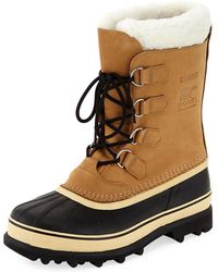 Sorel - Caribou Shearling-lined All Weather Duck Boot - Lyst