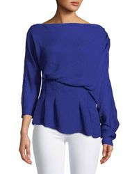 Camilla & Marc - Garland Off-shoulder Textured Top - Lyst