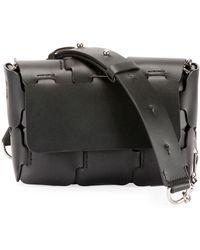 Paco Rabanne - 16#01 Mini Sleek Calfskin Shoulder Bag - Lyst