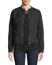 Anatomie - Lora Zip-front Nylon Fleece Jacket - Lyst