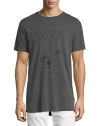 G-Star RAW - Hiyat Relaxed Logo T-shirt - Lyst