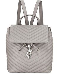 Rebecca Minkoff - Edie Flap Quilted Backpack - Lyst