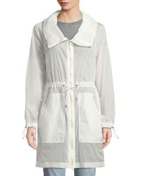 Mackage - Ellia Packable Long Rain Coat W/ Removable Hood - Lyst