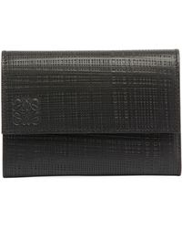 Loewe   Small Vertical Calf Leather Wallet   Lyst