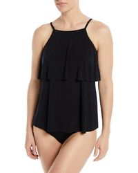 Magicsuit - Julia Tiered Tankini Swim Top - Lyst