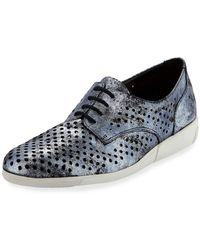 Sesto Meucci - Dira Perforated Lace-up Sneakers - Lyst