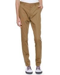 Lanvin - Men's Slim Cotton Pants - Lyst