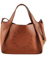 9177d1f5f2 Stella McCartney Falabella Crossbody Bag Redwood in Brown - Lyst