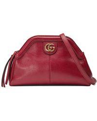 49705f95086 Lyst - Gucci Linea Dragoni Medium Chain Shoulder Bag in Blue