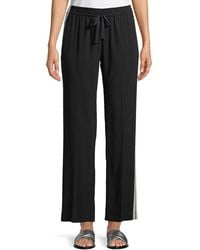 Zadig & Voltaire - Poeme Side-stripe Drawstring Sweatpants - Lyst