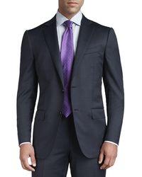 Ermenegildo Zegna - Tic Woven Two-button Suit - Lyst